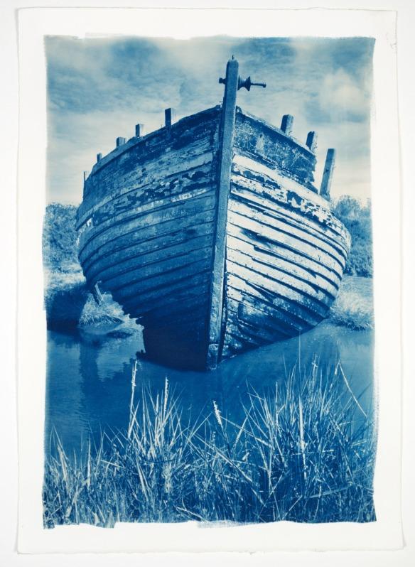 Derelict Boat, Norfolk b